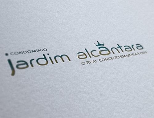 Identidade visual empreendimento Jardim Alcântara