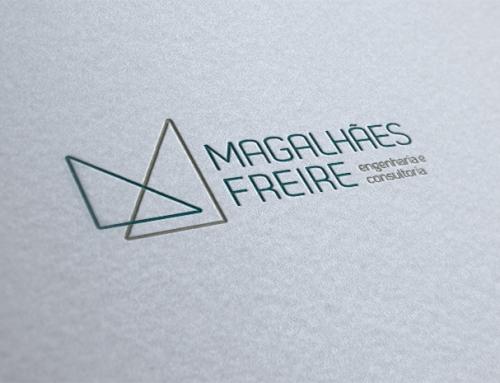 Identidade visual Magalhães Freire Engenharia e Consultoria