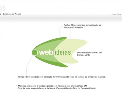 Sinalização Webjet